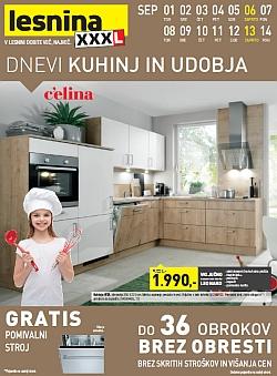 Lesnina katalog Ljubljana in Levec do 15. 9.