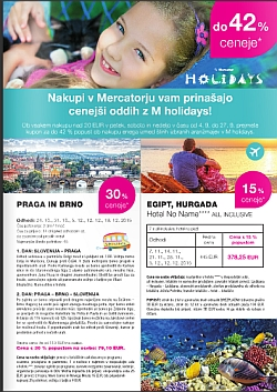 Mercator katalog M holidays september 2015