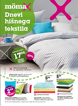 Momax katalog Dnevi hišnega tekstila do 14. 9.