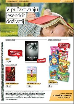 Pošta Slovenije katalog september 2015