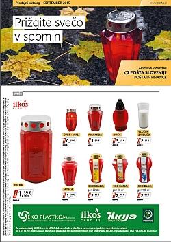 Pošta Slovenije katalog do 31. 10.