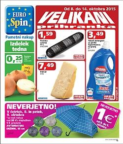 Eurospin katalog do 14. 10.