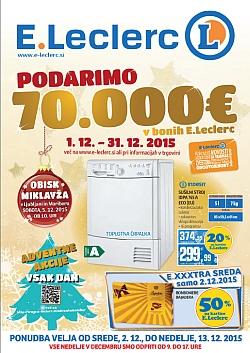 E Leclerc katalog Ljubljana do 13. 12.