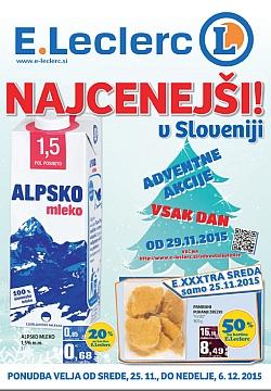 E Leclerc katalog Maribor do 6. 12.