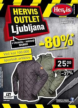 Hervis katalog Outlet Ljubljana do 24. 11.