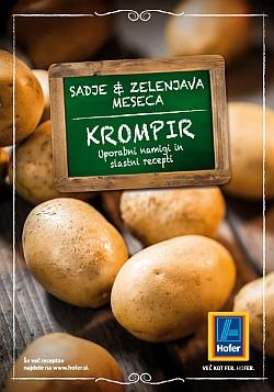 Hofer katalog Zelenjava meseca krompir