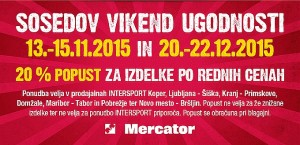 Intersport akcija Sosedov vikend ugodnosti