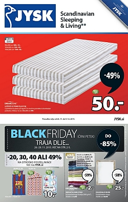 Jysk katalog Black Friday