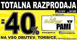 La Scarpa katalog Totalna razprodaja
