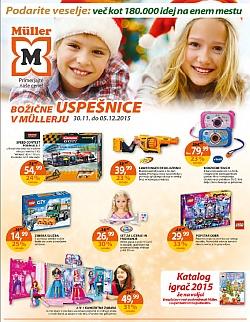 Muller katalog Igrače do 5. 12.