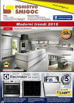 Pohištvo Šmigoc katalog Moderni trendi 2016