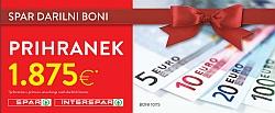 Spar in Interspar katalog Darilni boni 10/15