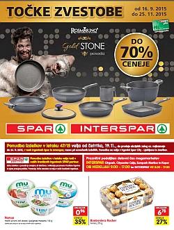Spar in Interspar katalog do 24. 11.