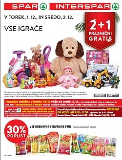 Spar in Interspar katalog do 8. 12.