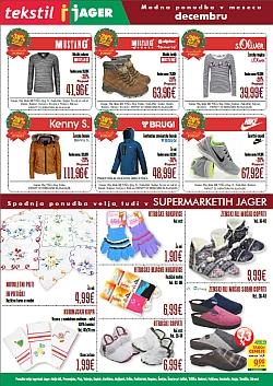 Jager katalog tekstil do 8. 12.