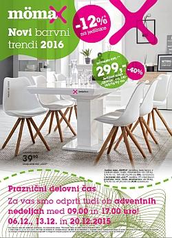 Momax katalog Novi barvni trendi 2016