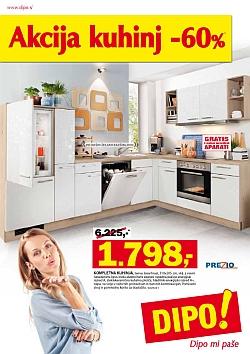 Dipo katalog Akcija kuhinj do 30. 01.