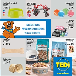 Tedi katalog Stalne prodajne uspešnice januar 2016