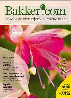 Bakker katalog Pomlad 2016