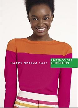 Benetton katalog Pomlad 2016