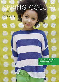 Benetton katalog Otroci pomlad 2016