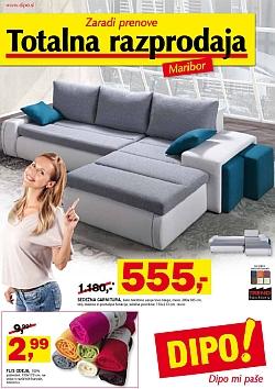 Dipo katalog Totalna razprodaja Maribor