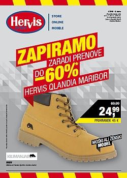 Hervis katalog Maribor Qlandia do 09. 02.