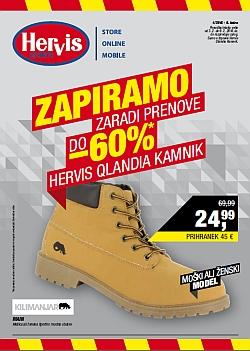 Hervis katalog Kamnik Qlandia do 09. 02.