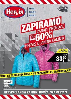 Hervis katalog Qlandia Kamnik do 16. 02.