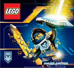 Lego katalog januar – junij 2016