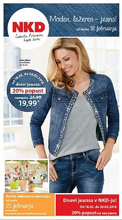NKD katalog Jeans od 18. 02.