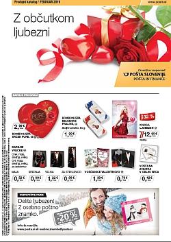 Pošta Slovenija katalog februar 2016