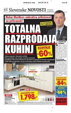 Rutar katalog Totalna razprodaja kuhinj