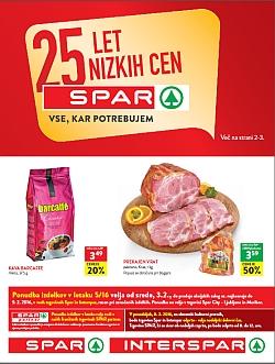 Spar in Interspar katalog do 09. 02.
