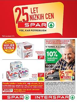 Spar in Interspar katalog do 16. 02.