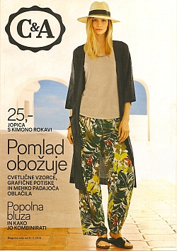 C&A katalog Pomlad 2016
