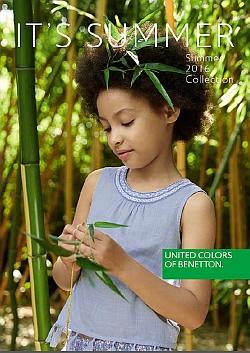Benetton katalog Otroci poletje 2016