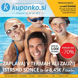 Kuponko katalog april 2016