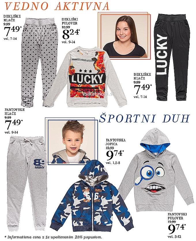 Mana akcija športnih oblačil