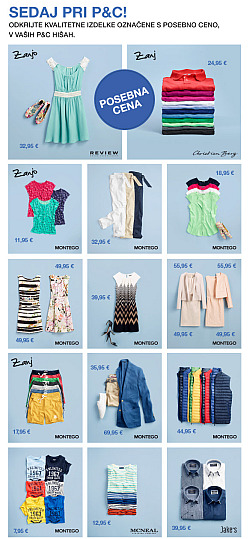 Peek & Cloppenburg katalog april 2016