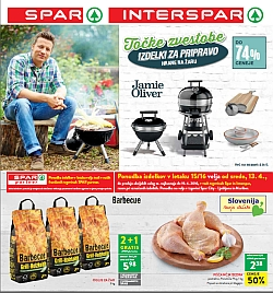 Spar in Interspar katalog do 19. 04.