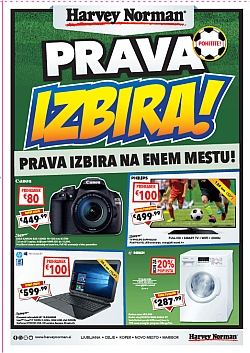 Harvey Norman katalog Prava izbira do 31. 05.