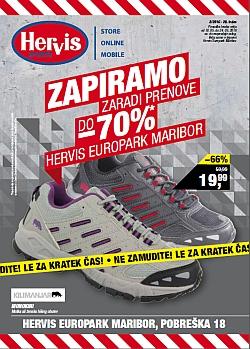 Hervis katalog Europark Maribor