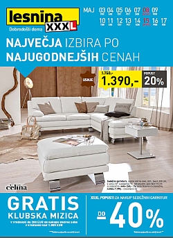 Lesnina katalog Ljubljana in Levec do 17. 05.