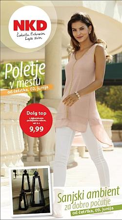 NKD katalog Poletje v mestu od 02. 05.