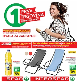 Spar in Interspar katalog do 10. 05.