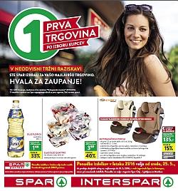 Spar in Interspar katalog do 31. 05.