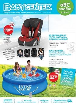Baby Center katalog junij 2016