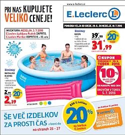 E Leclerc katalog Maribor do 10. 07.