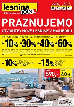 Lesnina katalog Praznujemo Ljubljana in Levec